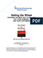 [Jeff Cox, Howard Stevens] SELLING the WHEEL Choo(Bokos-Z1)