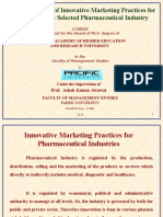 PPT of Research on Pharma Marketing