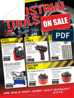 Industrial Tools on Sale Promo May-Aug 2016 Sml