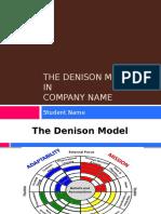 Denison Model