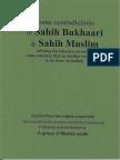Contradictions in Sahih Al-Bukhari and Sahih Muslim