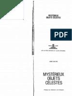 """""""Mystérieux objets célestes"""", Aimé Michel"""