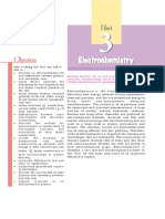 Chapter 3 Chemistry electrochemistry