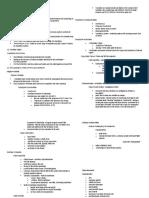 Comparative Vertebrate Anatomy Reviewer