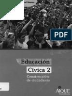 Educacion Civica 2 Construccion de Ciudadania