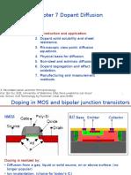 Chapter 7 Dopant diffusion _ I.pptx