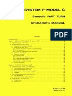 Fanuc System P-Model G Symbolic FAPT Turn Operator's Manual (B-54132E_01)