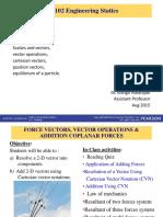 EM102 Topic 2 - Force Vectors