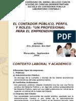 Unidad i El Contador Público Perfil y Roles