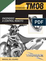 Manual Alarma Thunder TM08