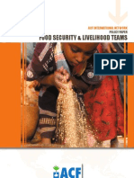 Action Against Hunger | ACF International Food Security Livelihood Policy 2008
