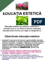 8.EDUCATIA ESTETICA