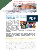 Escribe El Primer Derecho Humano Que Consta en Nuestra Constitucion Ecuatoriana