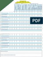 Formato para evaluar la gestión del docente en la revisión de la Agenda escolar