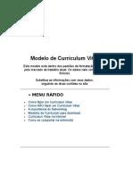 Modelo de Curriculum Primeiro Emprego