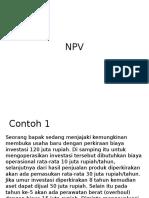 Contoh NPV Dan IRR