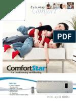 Equipos Mini Splits Comfortstar CSC1024CD