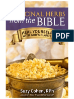 Medicinal Herbs From the Bible