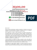 Porto Alegre MONOGRAFIA E TCC PARA TODOS OS CURSOS R$300,00