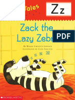 Zack the Lazy Zebra