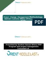 Change Management Using AKDAR Model