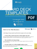 Startup Board Deck Templates NextView Ventures 1