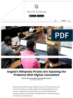 Angola's Wikipedia Pirates Are Exposing the Problems With Digital Colonialism _ Motherboard