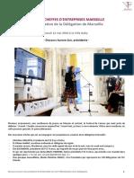 FCE Marseille Officialisation Discours Aurore Sun 12 Mai 2016
