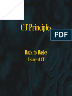 CT Principles, Basics to Basic Hystory of CT