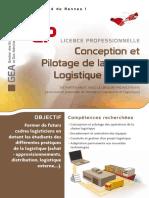 Licence Pro Conception Pilotage
