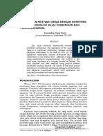 Jurnal Hubungan Motivasi Kerja Dengan Komitmen Kerja Karyawan Di Balai Pendidikan Dan Pelatihan Sosial (Pio Sdm)