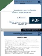 Diaporamas mécanique des systèmes solides indéformables