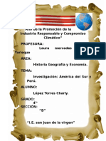 Trabajo de América Del Sur