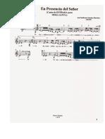 Partituras Ineditas PDF