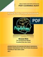 2011 DTSS PCA Psikologi Pemeriksaan
