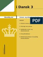 Dansk 3