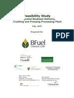 Bio Fuel Study