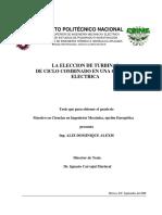 La Eleccion de Turbinas de Ciclo Combinado en Una Central Electrica