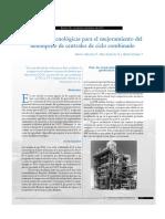 Tendencias Tecnologicas Para El Mejoramiento Del Desempeño de Centrales de Ciclo Combinado