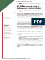Yo, Frankenstein e IGN Te Regalan Un Pack de Cómics - Movies
