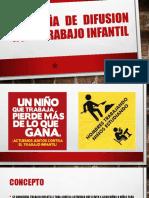Campaña de Difusion No Al Trabajo Infantil
