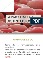 Farmacocinetica Distribucion Biotransformacion Eliminacion 20112