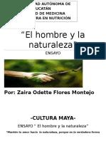 ENSAYO- EL HOMBRE Y LA NATURALEZA
