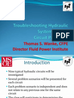 Thomas Wanke - Troubleshooting Hydraulic Systems Part 2 - Circuit Problems