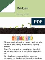 bridges staff meeting 2 26