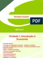 AULAS INICIAIS economia projeto