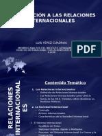 Introducción a Las Relaciones Internacionales - Luis Yepez