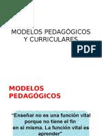 4. Modelos Pedagógicos