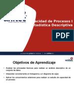 Cap. 2 - Capacidad de Procesos I - Estadística Descriptiva