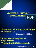 Gandire_ Limbaj_Comunicare - Integral